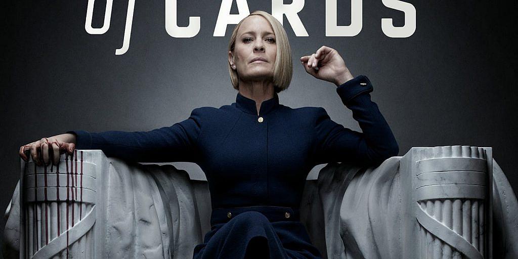 House of Cards'da başkanlık sırası artık Claire Underwood'da.